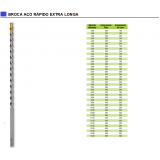 quanto custa broca de aço rápido longa Vila Leopoldina